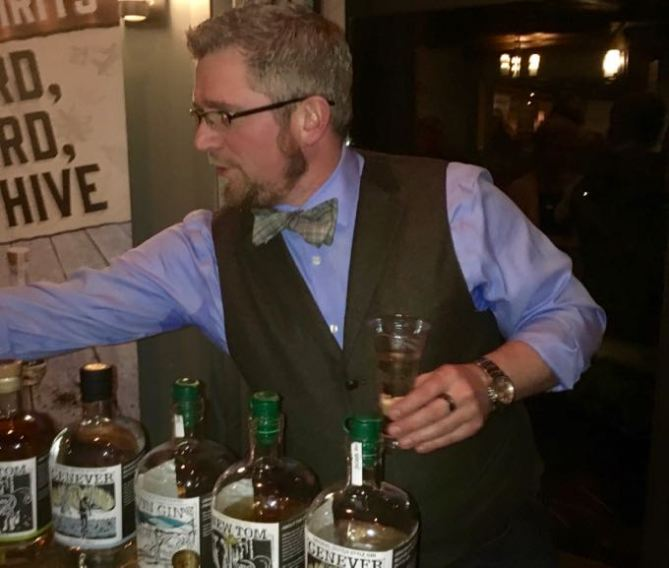 Parksville Untapped devin gin