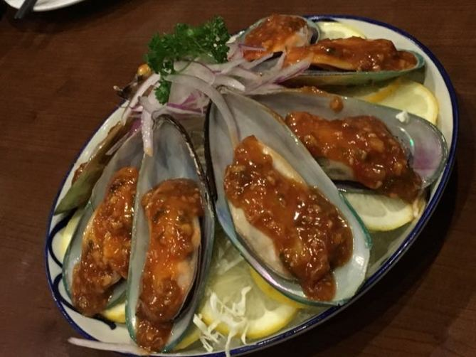ocean wise mussels at Maji