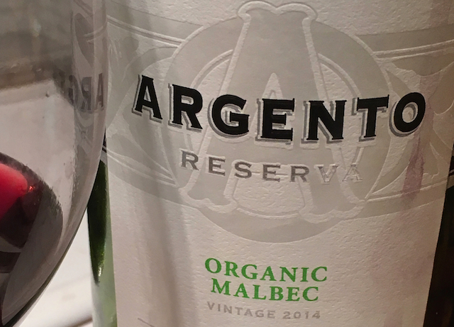 Argento Reserva Organic malbec