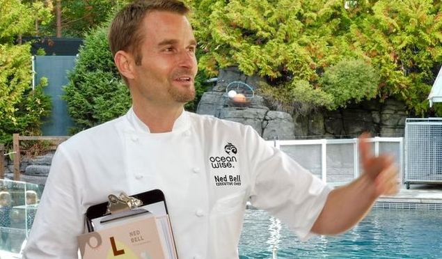 Lure - the definitive sustaibale seafood cookbook by chef Ned Bell