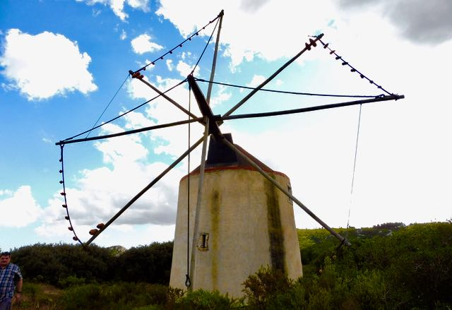 Lisboa old windmill
