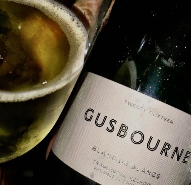 Gusbourne English Sparkling wine. Only in Toronto. Pity...