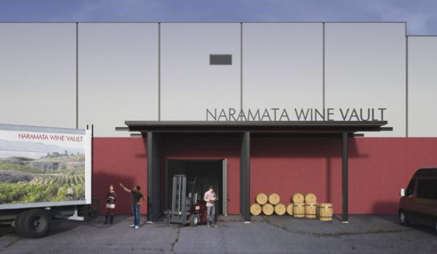 Rendition of proposed Naramata Wine Vault