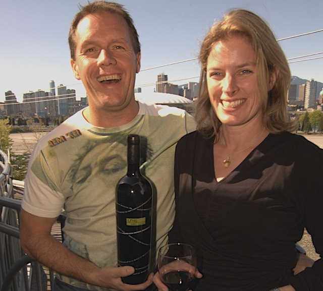 Laughing stock founders David and Cynthia Enns