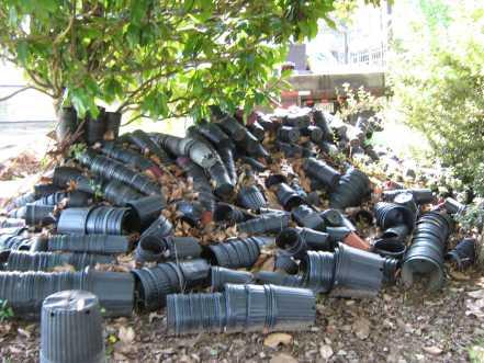 GSD Junk Hauling - Flower Pots