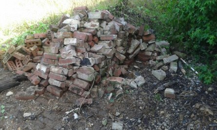 GSD Junk Hauling - Bricks Removed