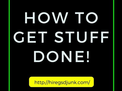 How to Get Stuff Done! (First in a Series)