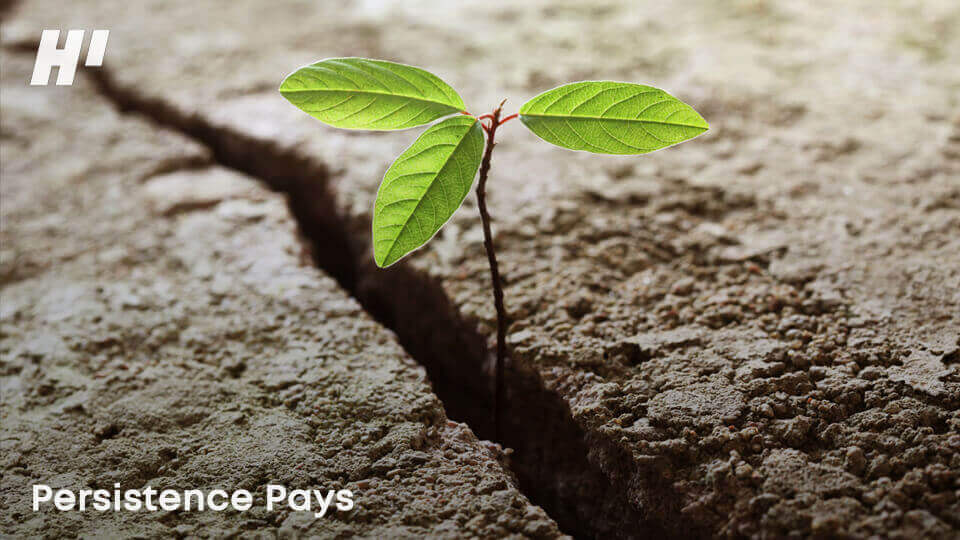 Persistence-pays