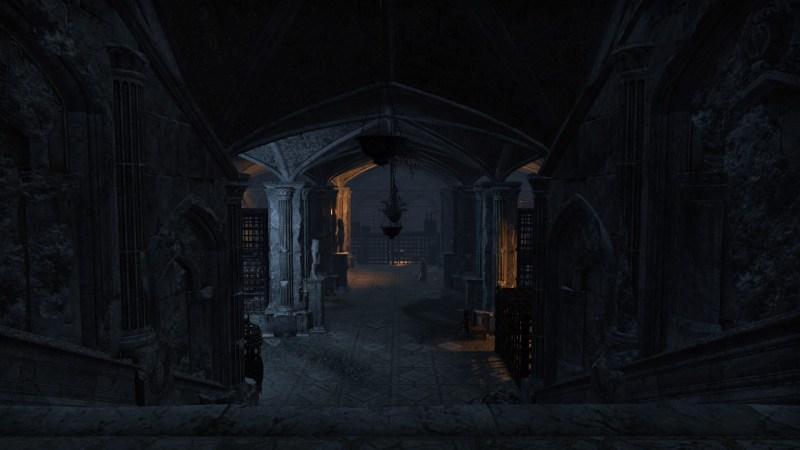 Below the Monastery