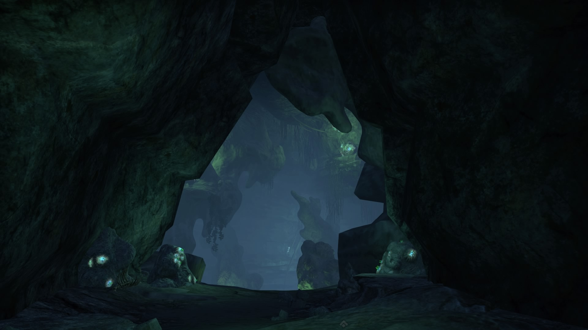More caves under the sinkhole