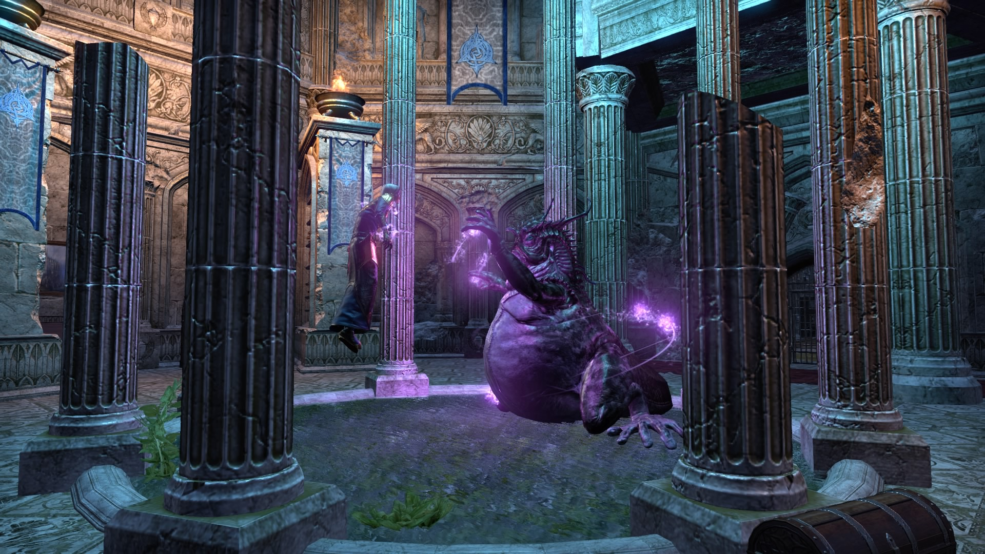 K'Tora flipping through the Ritemaster's mind