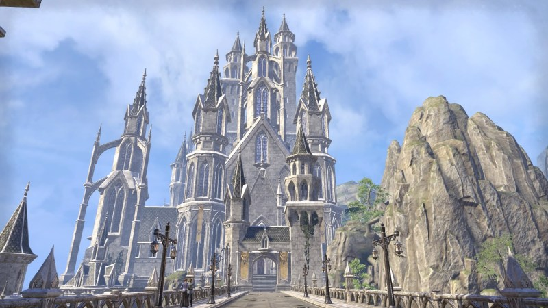 Royal Palace in Alinor