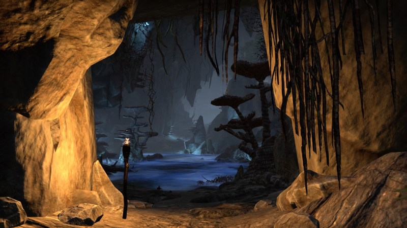 Inside Eton Nir Grotto