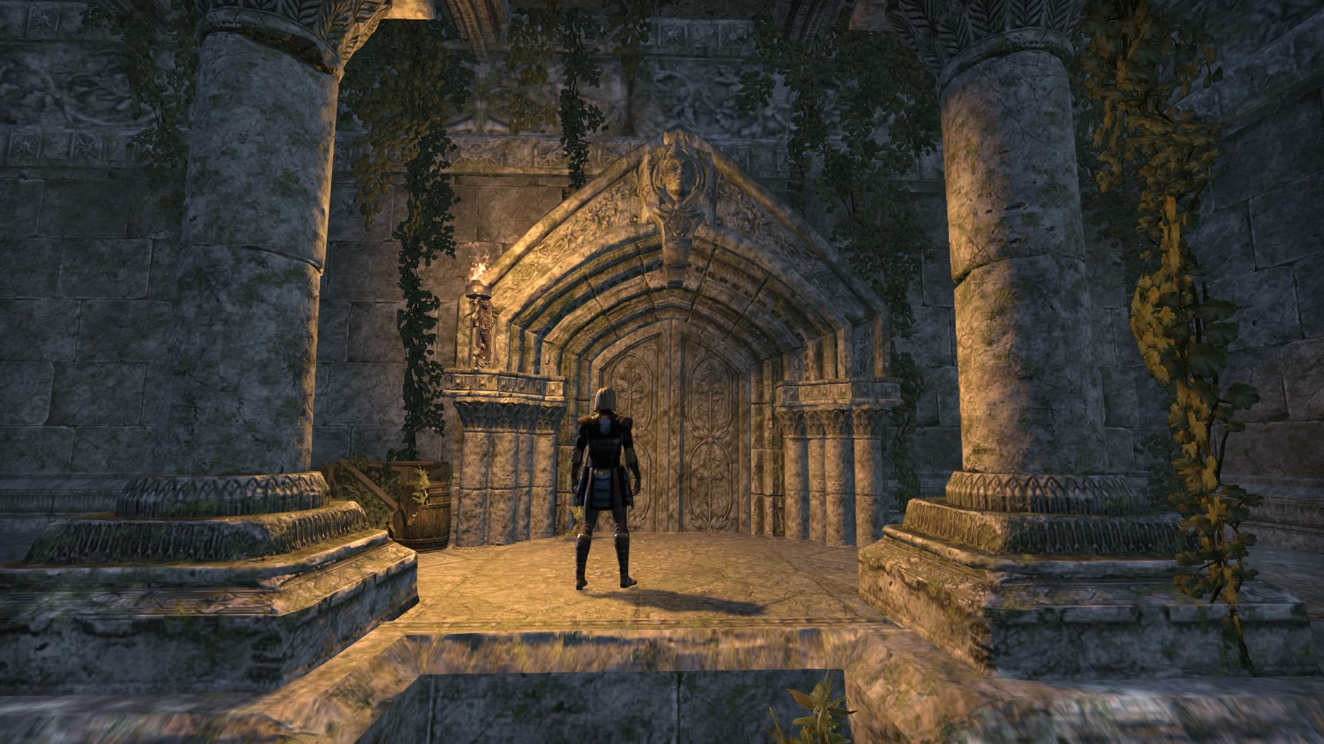 Entrance to the Ebon Sanctuary