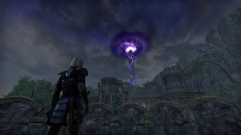 The Crystal Tower under attack by Nocturnal