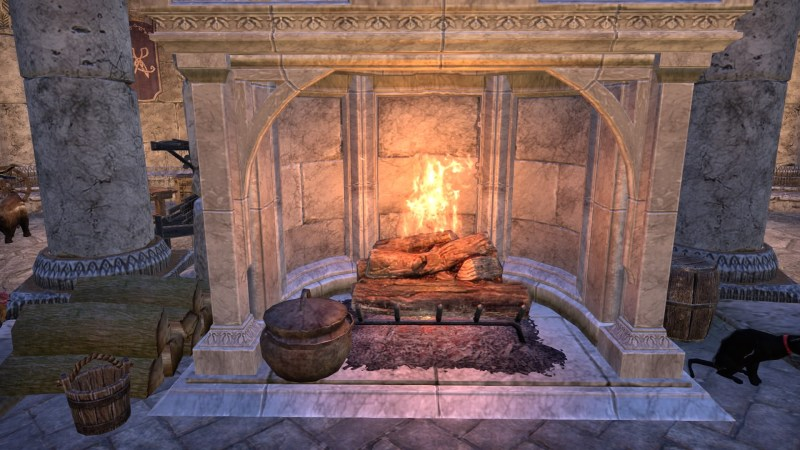 A fireplace for Provisioning