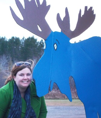 Kathryn Basham and the Blue Moose