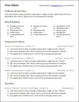 google_docs_3_column_skills_resume_template