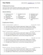 microsoft_word_3_column_skills_resume_template