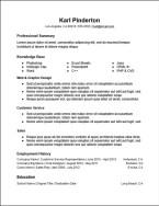 functional_skills_resume_template