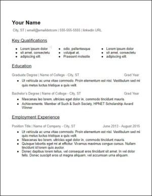 google_docs_lots_of_skills_education_resume_template