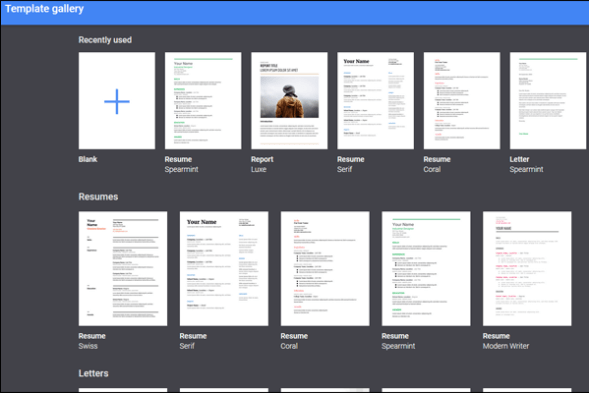 Google Docs Resume Templates Free to Download - HirePowers net