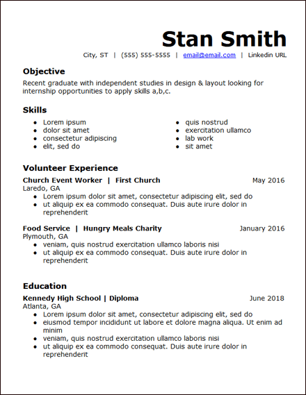 high_school_student_skills_based_resume_template_