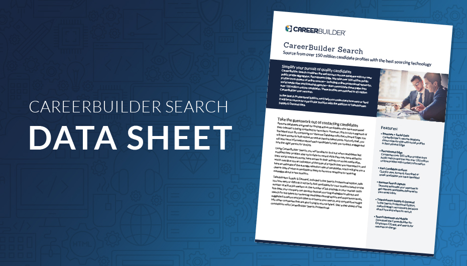Search Resumes In The Resume Database Careerbuilder For
