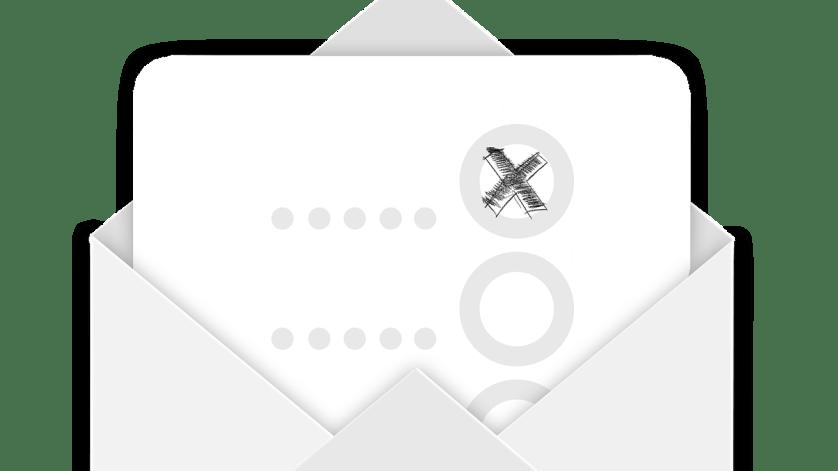 envelope, check, yes
