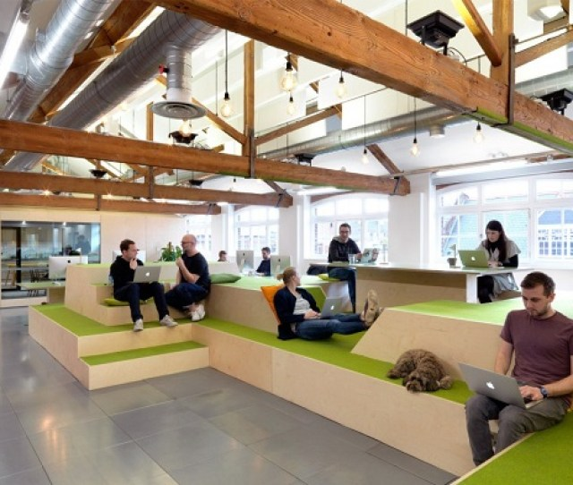 Workplace Trends Airbnb Office Breakout Space
