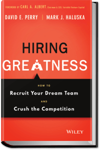 Hiring Greatness book front cover