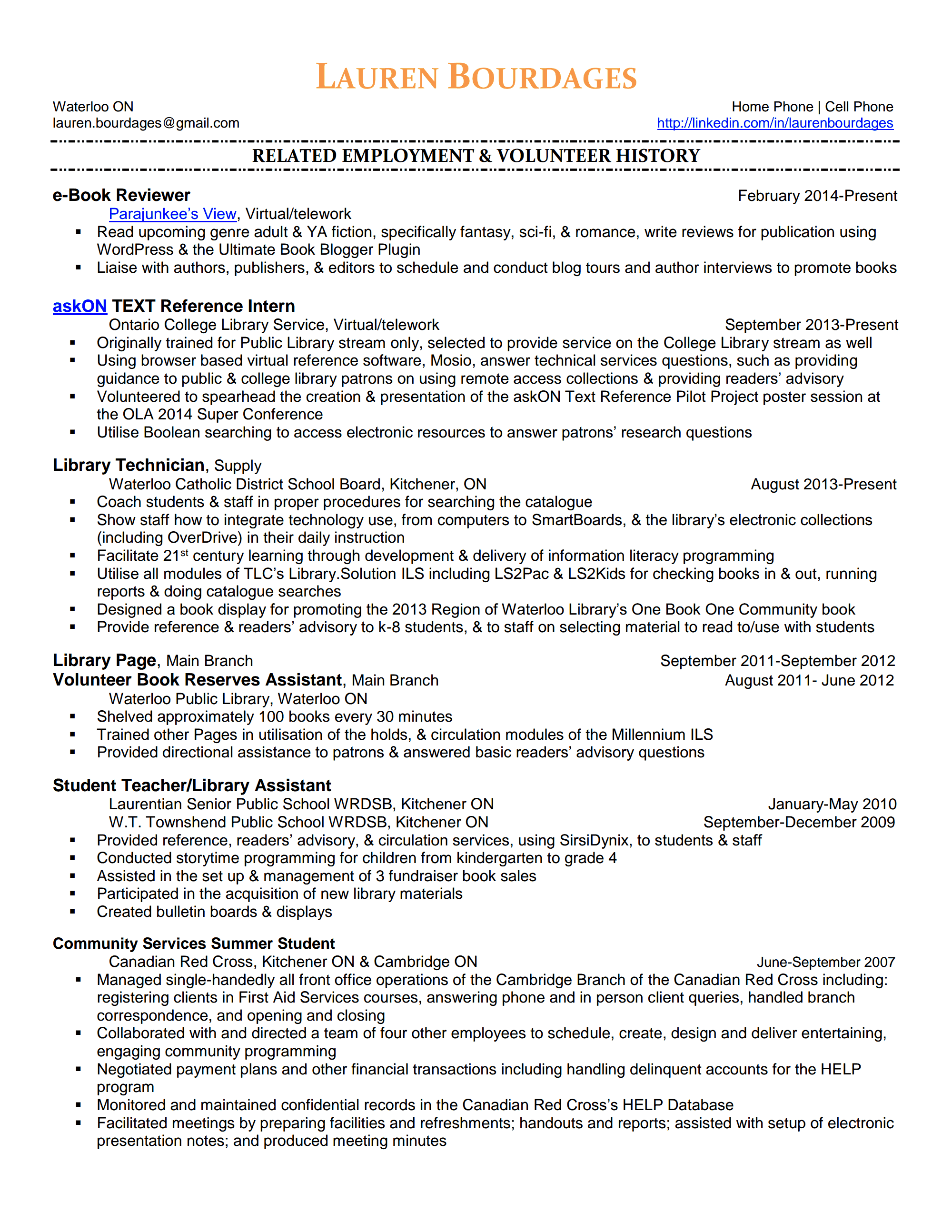 librarian resume template library assistant cv sample librarian susan ireland resumes library technician resume seangarrette colibrary