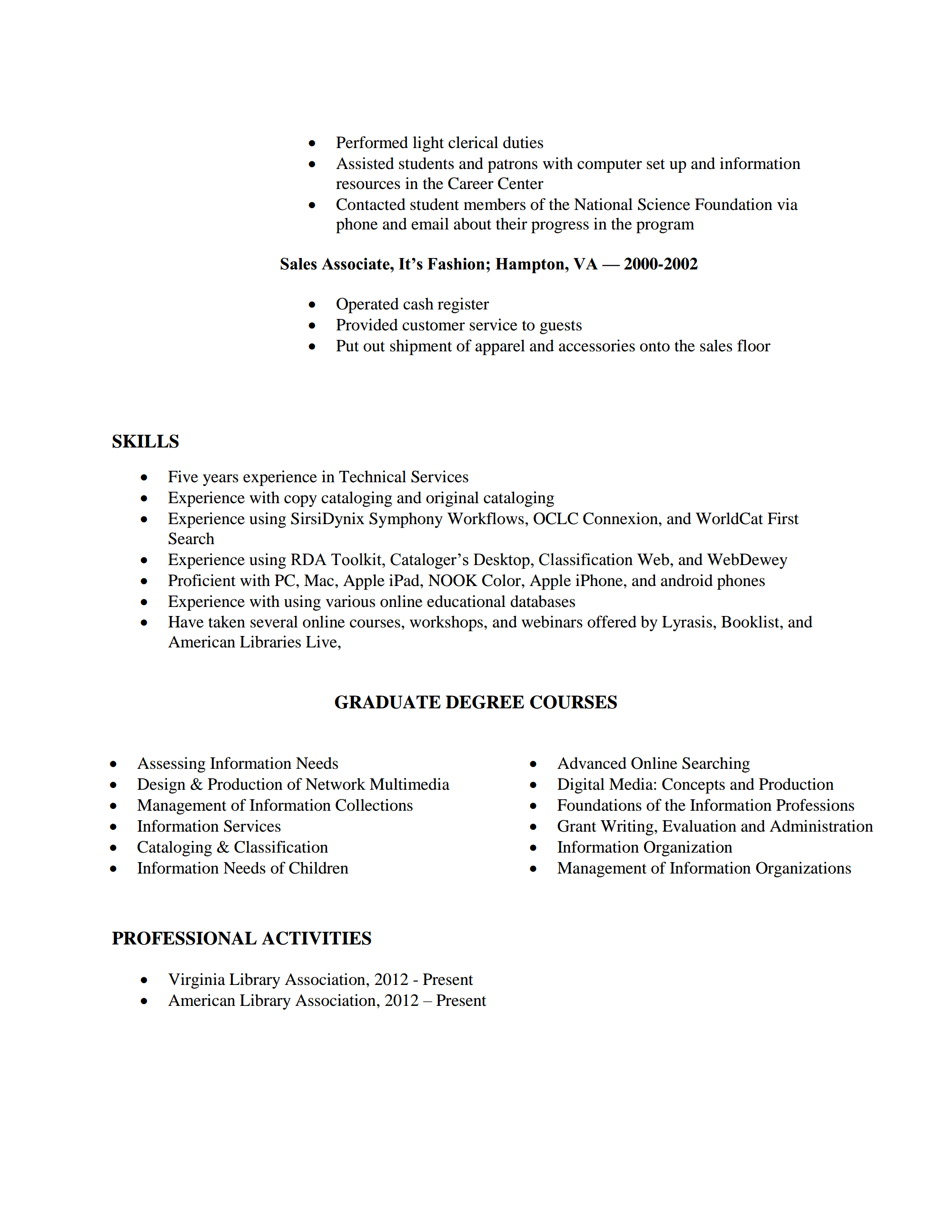 100+ [ Apple Job Resume ] | Free Resume Templates For Pages Resume ...