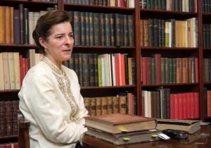Berecz Ágnes, a Ráday Könyvtár gyűjteményigazgatója