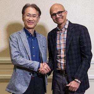 ソニーとマイクロソフトのCEO