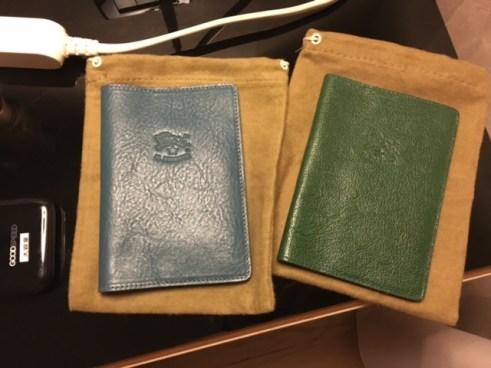 イルビゾンテ パスポートカバー