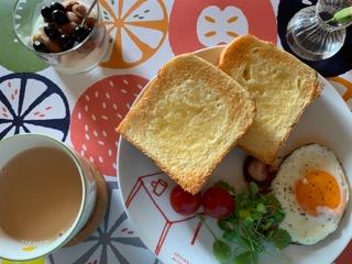 ベビーリーフ朝食