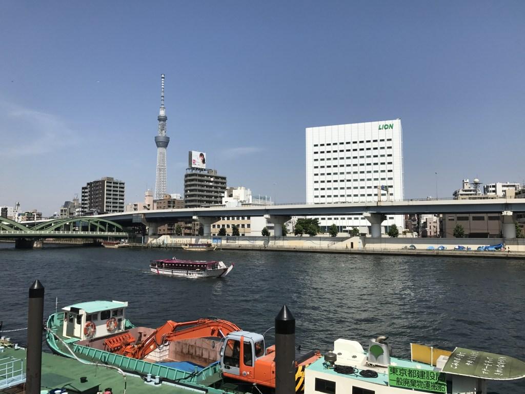 隅田川 厩橋近く