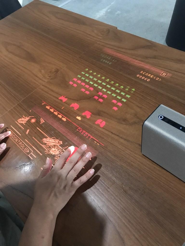 銀座ソニーパーク インベーダーゲーム
