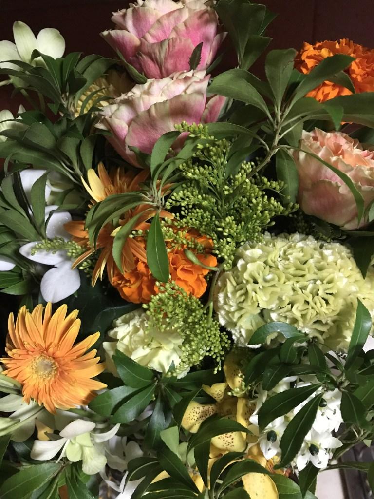 花をプレセント
