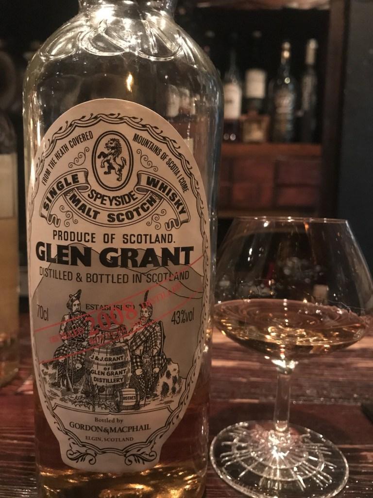 ゴードン&マクファイル グレングラント 2008をテイスティング