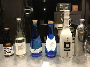 枡一市村酒造場で日本酒テイスティング