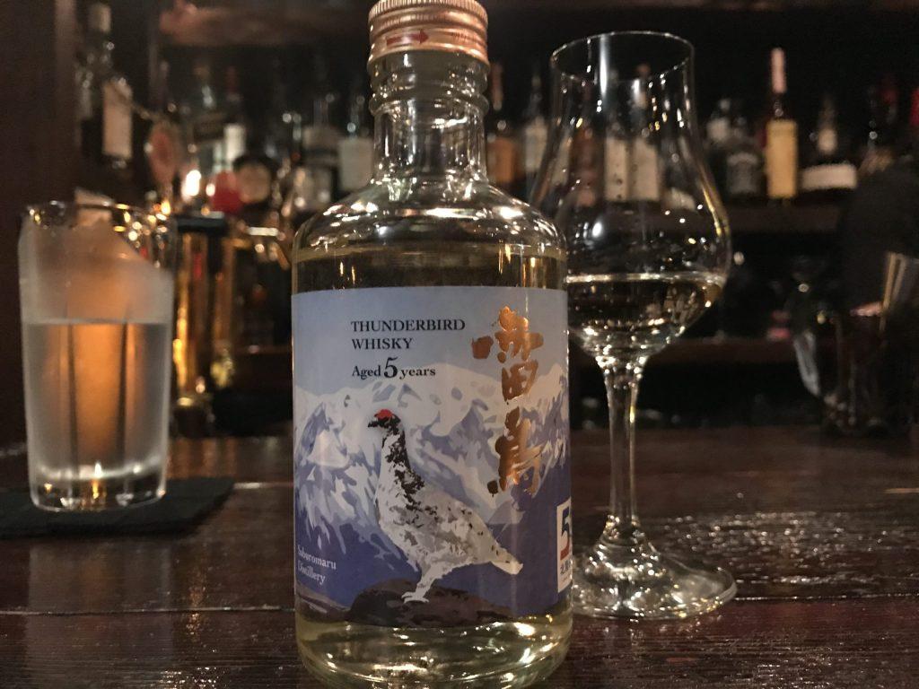 三郎丸蒸留所のウイスキー「雷鳥」