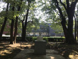 上野公園の東京都美術館