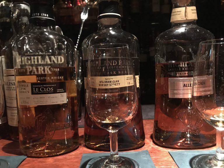 ハイランドパーク限定3種飲み比べ