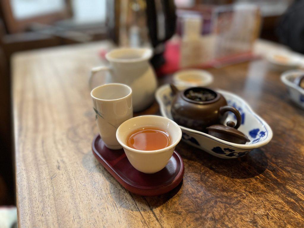 「悟空茶荘」で白芽奇蘭