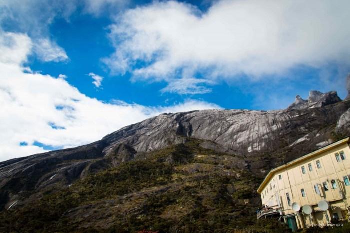 キナバル山登山中