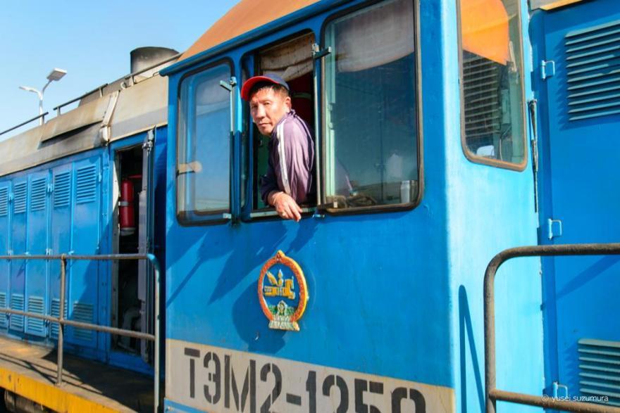 ウランバートル 列車