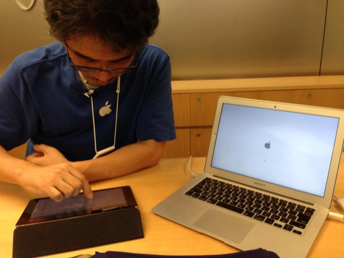 AppleStore渋谷の笠井さん