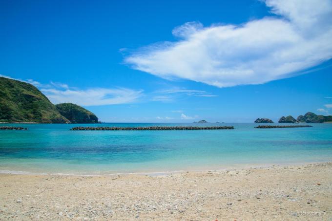阿嘉島の前浜